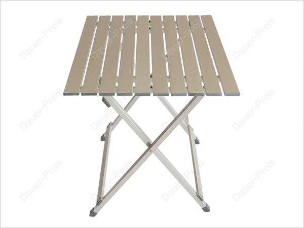alu tisch klapptisch campingtisch klappbar b ware ebay. Black Bedroom Furniture Sets. Home Design Ideas